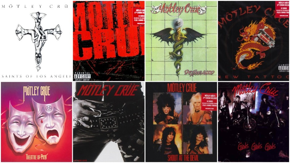 Motley Crue – The Albums Ranked Worst to First – 2loud2oldmusic