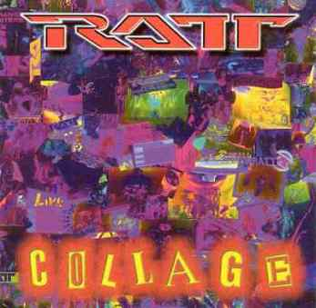 RATT-Collage-CD-1997-DeRock-Records-10-Tracks-EXCELLENT