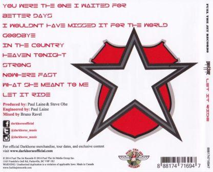DARKHORSE - Let It Ride [CD version +1] back