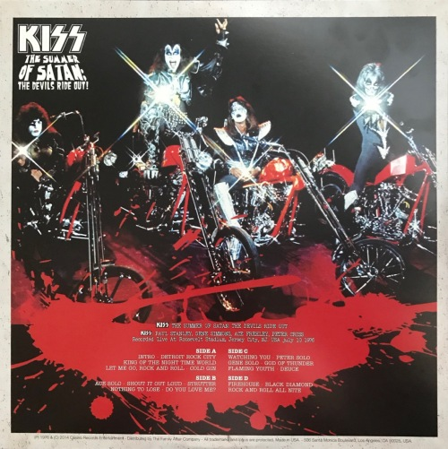 Kiss – 'The Summer of Satan: The Devils Ride Out!' (Bootleg