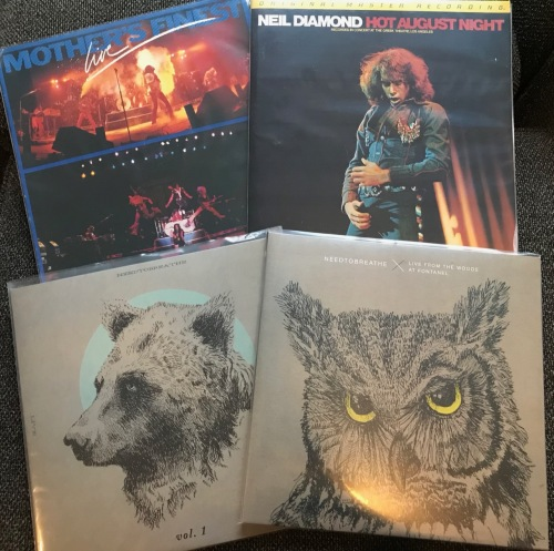 Turntables & Vinyl #22 – The Live Albums – 2loud2oldmusic