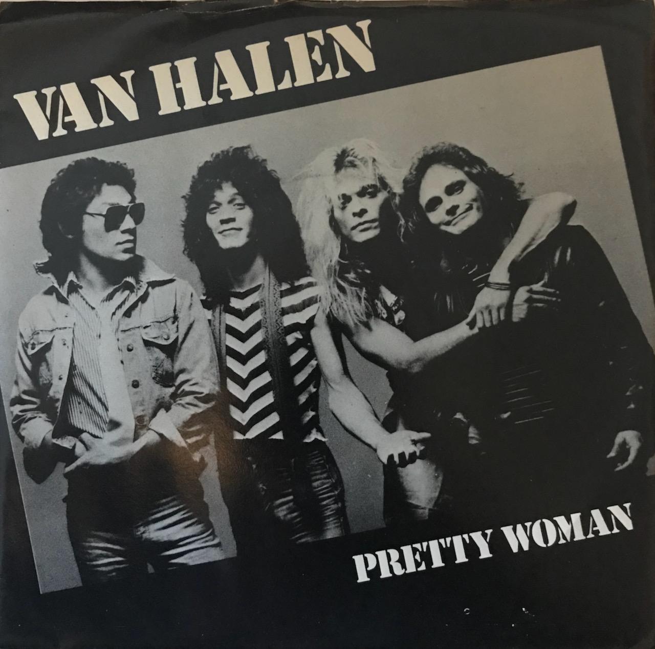 """Van Halen – """"Pretty Woman"""" – 45 Single"""