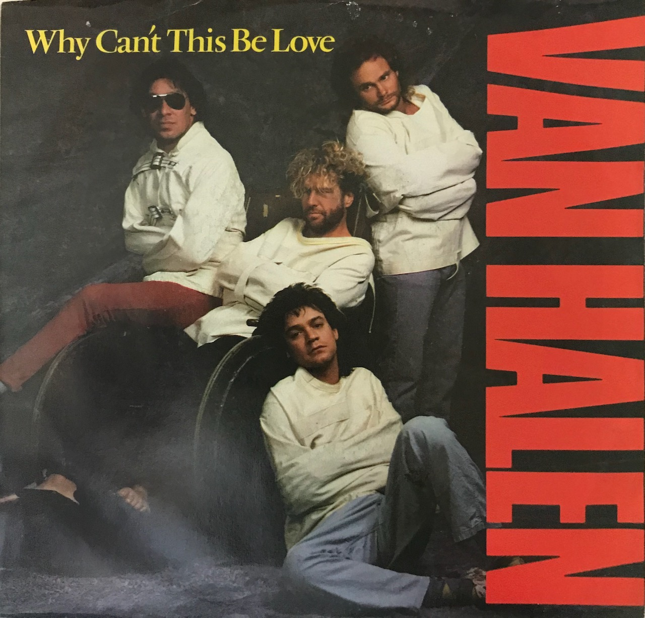 """Van Halen – """"Why Can't This Be Love"""" – 45 Single"""