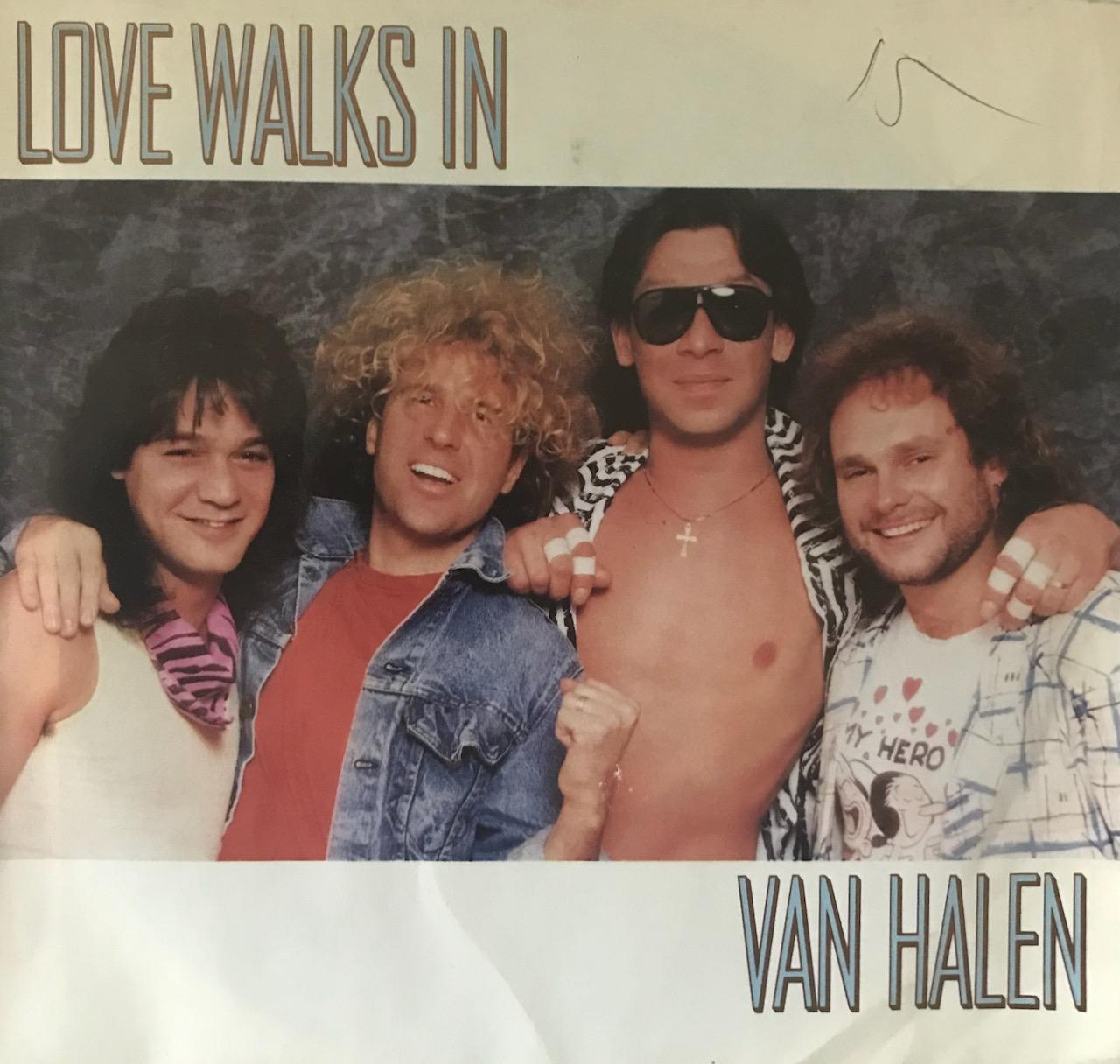 """Van Halen – """"Love Walks In' – 45 Single"""